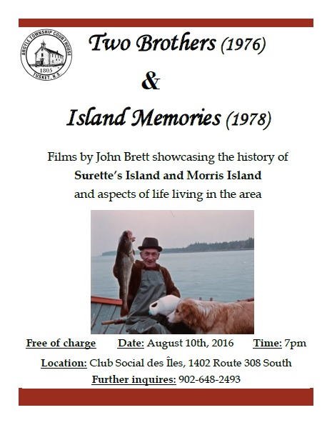 John Brett Film Night