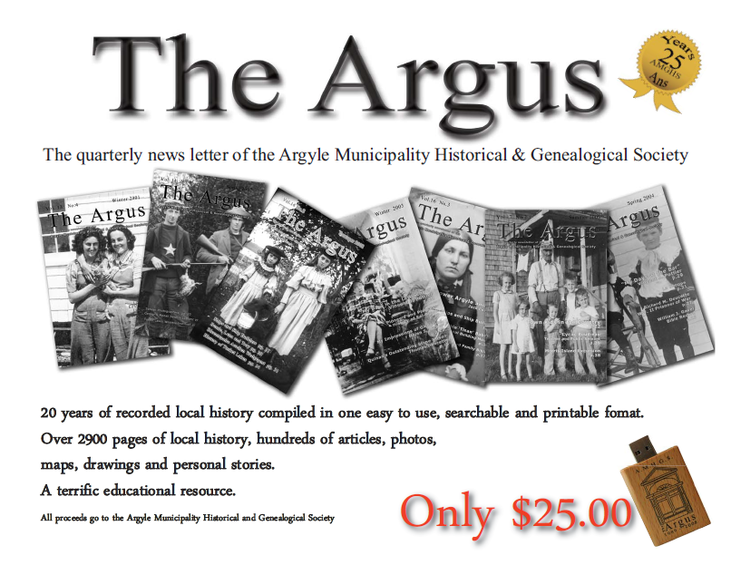 The Argus USB - The First Twenty Years
