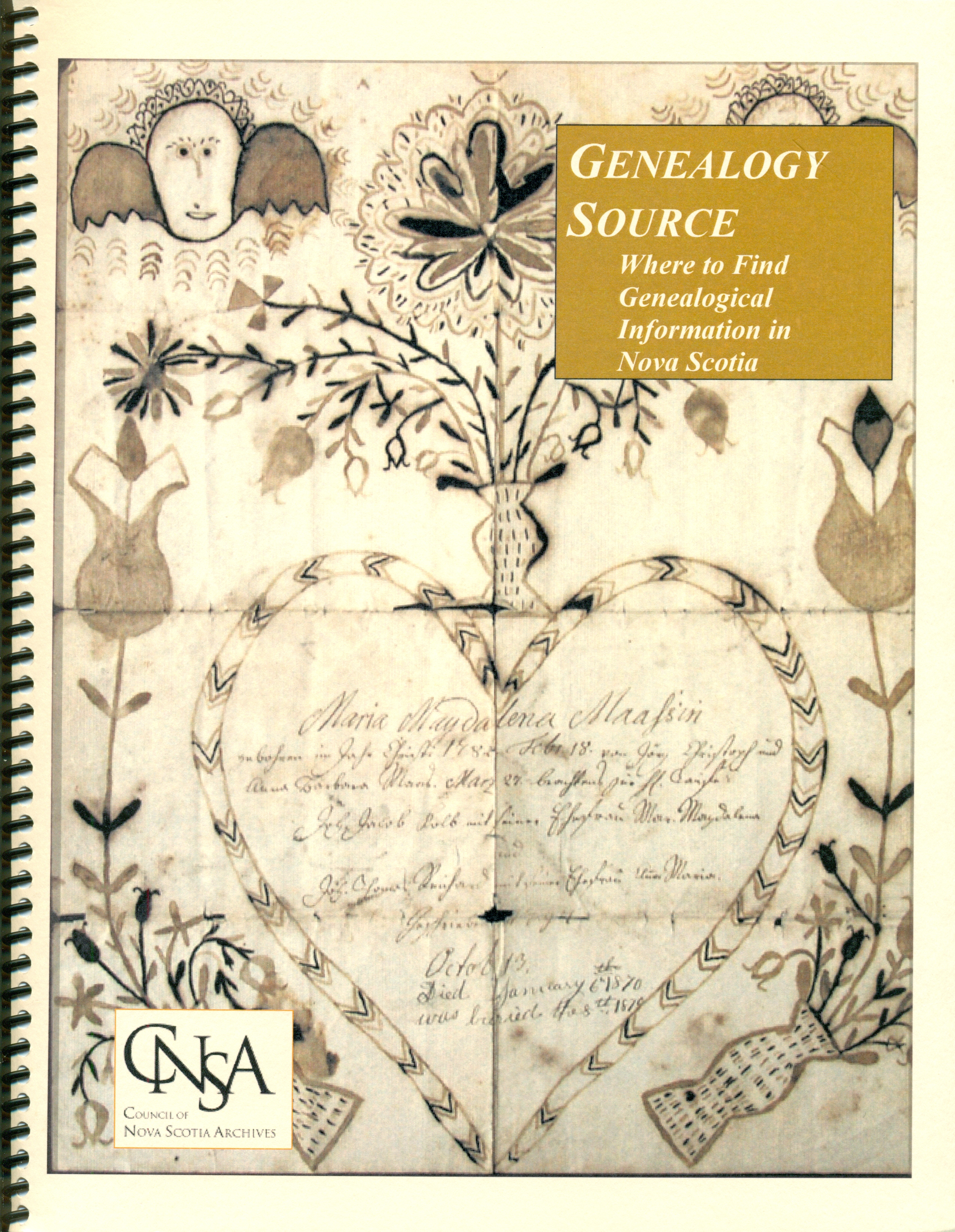 Genealogy Source NS