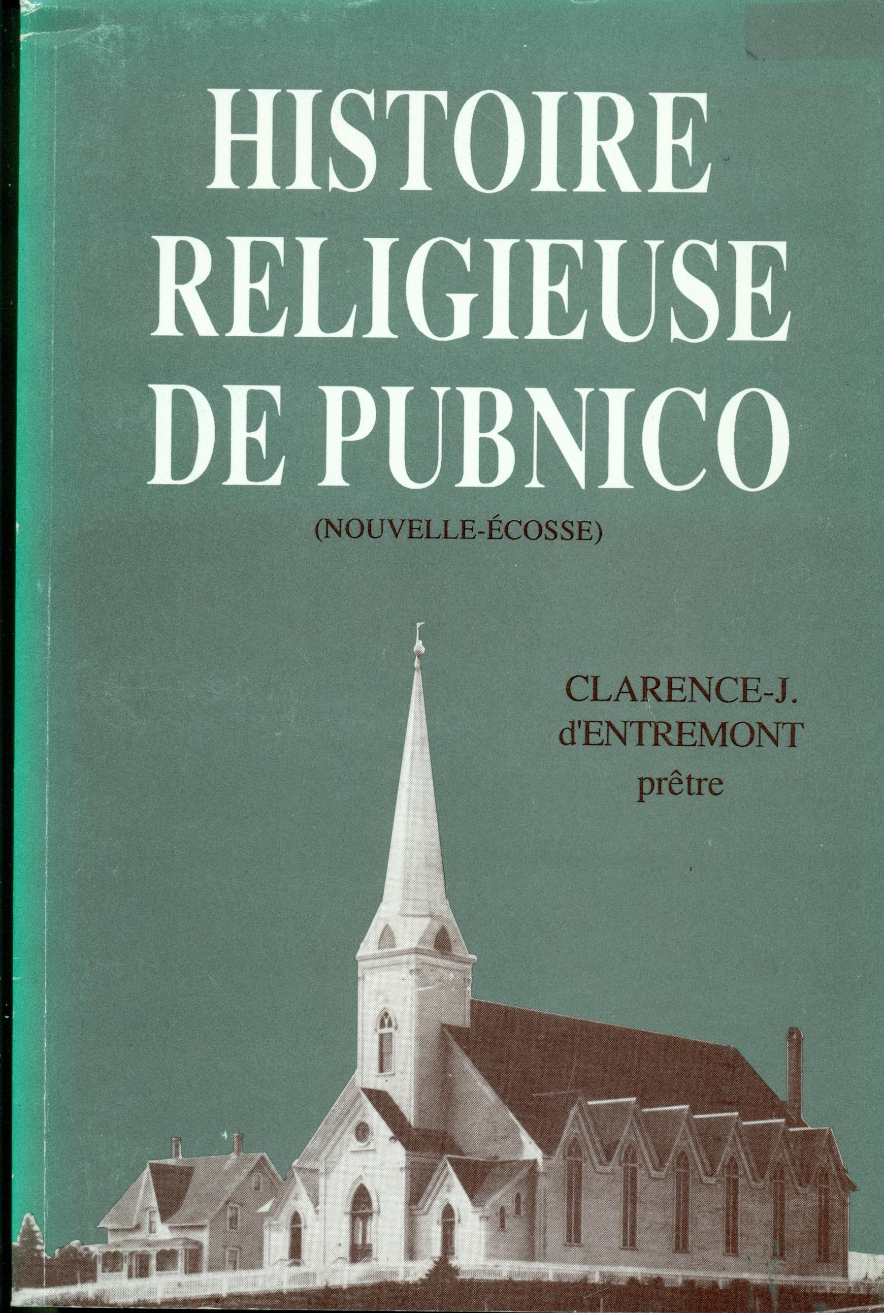Histoire Religieuse de Pubnico