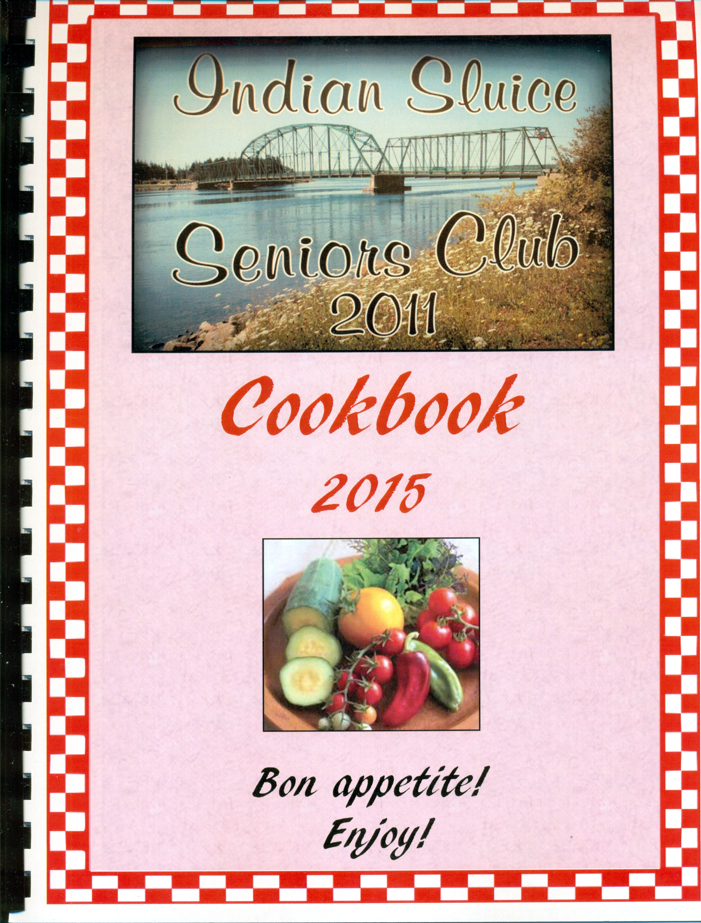 Indian Sluice Cookbook